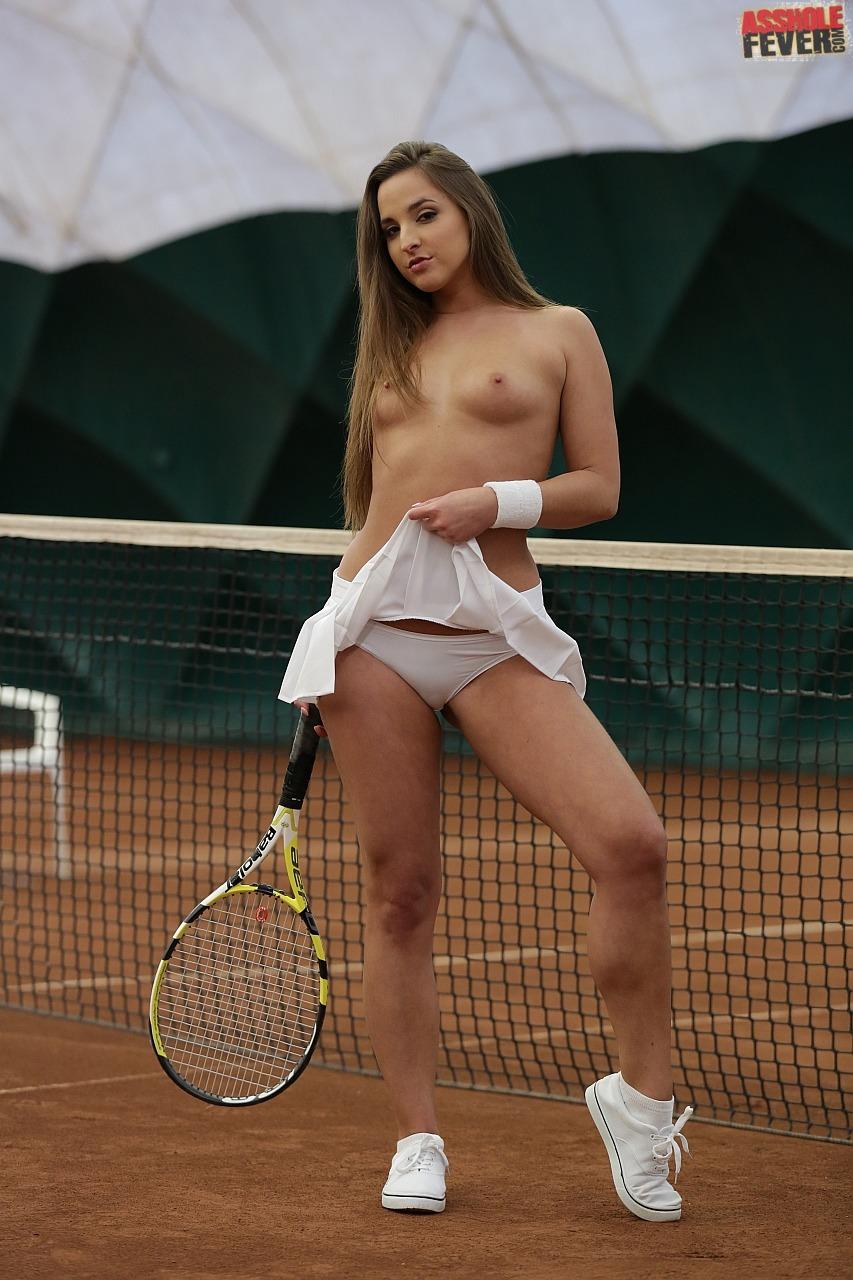 Naked Tennis Player Girl