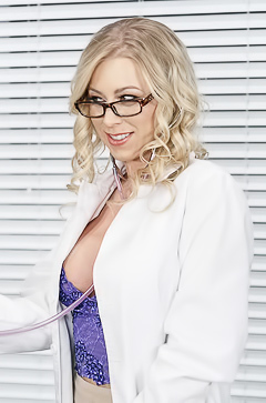 Dirty fun with doctor Katie Morgan