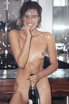 Wild And Drunk Playboy Model Milena