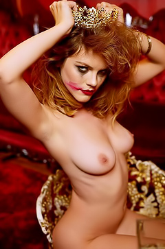 Redhead Striptease With Ora Young