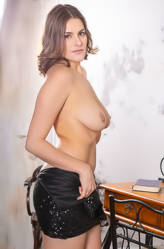 Home Striptease From Amateur Eva M.