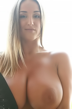 Busty Stacey Poole Gets Out Of Tight Bra